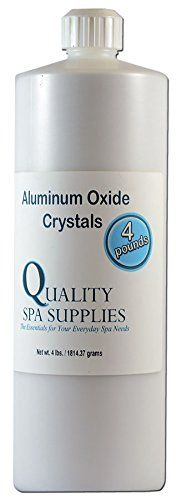 Aluminum Oxide Crystals  Microdermabrasion Crystals  120 Grit Pure White 4lbs ** Visit the image link more details.(This is an Amazon affiliate link and I receive a commission for the sales)