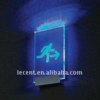 LED Lighting Glow Sign Support Holder Fixing