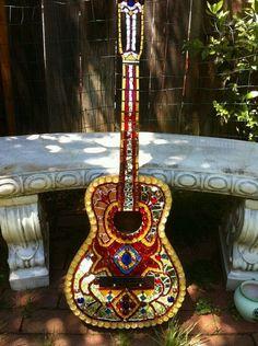 My Mosaic guitar <3