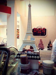 Tour Eiffel di cioccolato. Sigep 2016