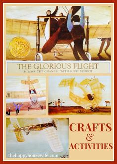 31 Days of Read-Alouds: The Glorious Flight ~ This is a great book to read when studying aviation as well as France during the early 1900's. | The Happy Housewife