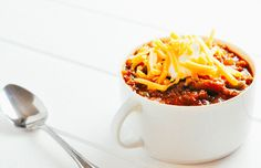 Tomatillo Chili [Pressure Cooker Recipe]   KETOGASM.com #keto #recipes #low-carb #chili #tomatillo #lchf #meal #prep #pressure #cooker #instantpot