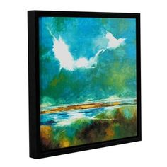 Shop for Stuart Roy's ' Seascape II' Gallery Wrapped Floater-framed Canvas. Get free delivery at Overstock.com - Your Online Art Gallery Store! Get 5% in rewards with Club O!