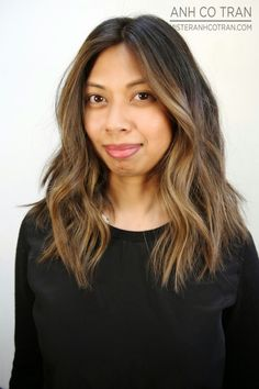 SAN FRANCISCO: ALL DONE IN ONE DAY. Cut/Style: Anh Co Tran • IG: @anhcotran • Appointment inquiries please call Ramirez|Tran Salon in Beverly Hills at 310.724.8167.