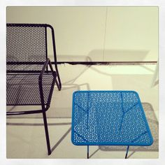 Mesh outdoor furniture by Markamoderna.