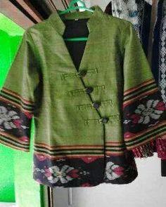 Etfv Batik Fashion, Fashion Sewing, Work Fashion, Blouse Batik, Batik Dress, Mode Batik, Navratri Dress, Batik Kebaya, Stylish Tops