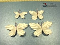 Crafting with Class: Origami Butterflies Tute