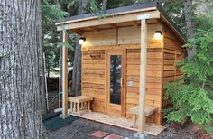 If you want to build an indoor or outdoor sauna, we've got you covered. We've assembled a list of 29 DIY sauna plans from around the internet. Porch Heater, Sauna Heater, Diy Sauna, Sauna Ideas, Sauna House, Sauna Room, Indoor Playhouse, Build A Playhouse, Saunas