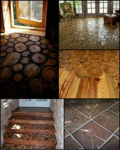 Unique Flooring Ideas For Any Room In Your Home  Whether we're sitting, standing or walking, the floor is there. Given it's ever-present nature, it makes sense to ensure your flooring reflects your personality and lifestyle.  Here are a few flooring ideas to get the creative juices flowing.