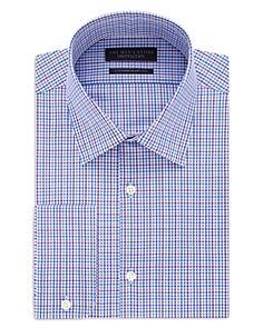 The Men's Store at Bloomingdale's Multi Check Regular Fit Dress Shirt