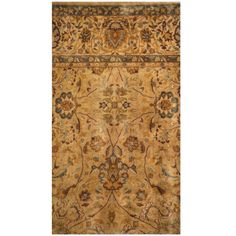Herat Oriental Indo Hand-knotted Vegetable Dye Oushak Wool Rug