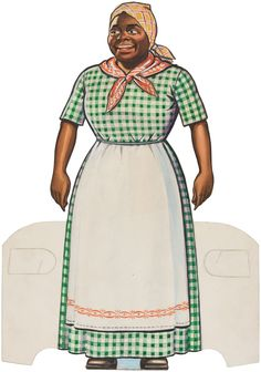 Paper Dolls as Fashion History Aunt Jemina, Vintage Advertisements, Advertising Ads, Retro Ads, Minstrel Show, Female Poets, Paper Dolls Book, Popular Outfits, Black Women Art