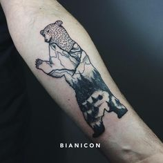 #bianicon #tattoos #black #bears