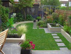 A nice design for a small garden