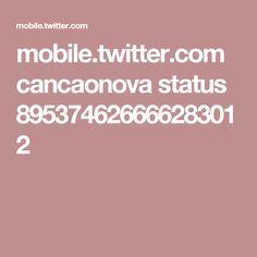 mobile.twitter.com cancaonova status 895374626666283012