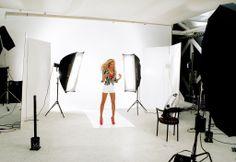 Karelea Mazzola - Behind the Scenes, Fashion, Photo-shoot, Studio