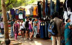 Fashion Street refers to a cluster of over 385 street side clothing shops on MG Road near Azad Maidan and is opposite to Bombay Gymkhana, in South Mumbai, India. A variety of denims, shirts, accessories, hats, footwear and mini-restaurants can be found on this street.
