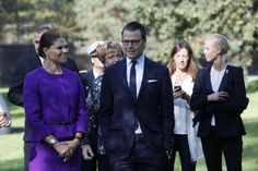 Crown Princess Victoria and Prince Daniel visited municipality of Umeå. The couple visited Sculpture Park on Umedalen and The Museum Guitars