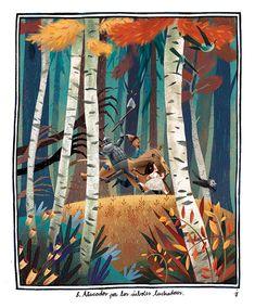 The Art Of Animation, Júlia Sardà. Art and illustration Illustration Mignonne, Illustration Vector, Forest Illustration, Children's Book Illustration, Illustrations And Posters, Oeuvre D'art, Art Reference, Book Art, Concept Art