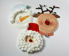 Paper plate Christmas craft