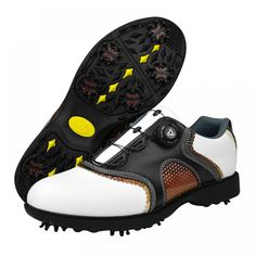 2016 patent Golf Shoes Men waterproof Leather shoes laces send activities nail automatic revolving spikes Price: 55.11 & FREE Shipping #bag #chanel #clothes #siambrandname #followme #luxury #sbn #happy #follow #fashionblogger #summer #instadaily Buy Mens Shoes, Mens Shoes Online, Mens Fashion Shoes, Golf Shoes, Men's Shoes, Shoes Men, Shoes Sport, Shoes Style, Leather Shoe Laces
