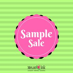 SAVE THE DATE 1/29 and 1/30 for our SAMPLE SALE! Overstock, overruns, samples, mismatch items are all on sale! Stop by Melon Ink at 100 Oakwood Road, Unit B, Lake Zurich, 1-5pm. Great deals and excellent opportunity to get some promotional items at a great price! These are also the last 2 days in our current location before we move next door. Stop by to see our progress and shop our sale!