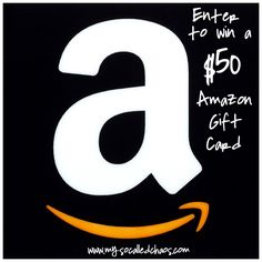 Great Give Away!!  http://www.mysocalledchaos.com/2014/11/meet-jamie-and-enter-to-win-50-amazon.html