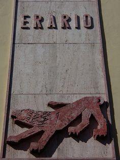 Virgilio Milani - Leone Palazzo Erario by Pivari.com, via Flickr