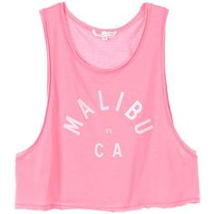 Victoria's Secret Malibu Low-Armhole Crop Tank Brand new. Never worn. Style and color shown in first photo. Don't miss out on stocking up for the warmer weather or vacation 🎉💗 Victoria's Secret Tops Crop Tops Crop Shirt, Cropped Tank Top, Crop Tank, Graphic Tank Tops, Graphic Shirts, Pink Crop Top, Pink Tops, Swim Cover Ups, Victoria's Secret