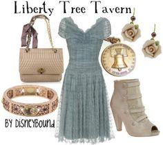 liberty, disney cloth, tree tavern, outfit, the dress, trees, liberti tree, disney bound, disney fashion