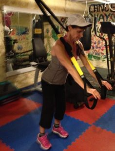 TRX Golf Rotation to Windmill | Maurie Cofman, AHFS, CES, TBMM-CES ... -- Find out more at the image link. #GolfExercises