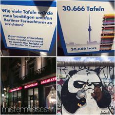 Selbst im Urlaub können wir die Finger nicht von Schoki lassen! Berlin-Bratislava
