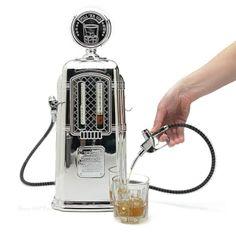 gas pump liquor dispenser