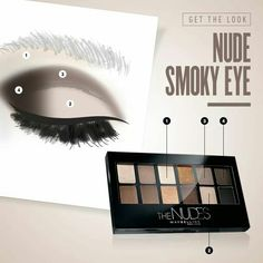 Maybelline ' s nude pallete