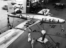 FICON project - F-84 mounted ON THE WINGTIP of a B-29 #flighttest