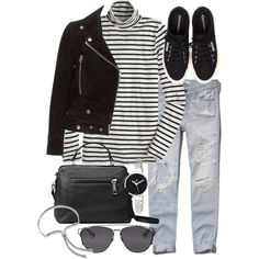 Untitled #18922 by florencia95 on Polyvore featuring moda, J.Crew, Acne Studios, Abercrombie & Fitch, Henri Bendel, Linea Pelle, Christian Van Sant, Monica Vinader and Christian Dior