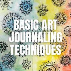 Art Journal Prompts, Doodle Art Journals, Art Journal Pages, Art Journaling, Journal Ideas, Mixed Media Techniques, Art Journal Techniques, Therapy Journal, Art Therapy