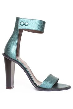 Tibi - Barbara Heel-Metallic Emerald....ahhh this shoe totally would have made the cut for my spring shoe picks on my blog today if only I had seen it 4 hours earlier..... #theonethatgotaway