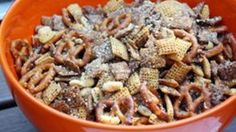 Bring this herby party mix to snack on at your next summer cookout. Your friends and your mouth will thank you.