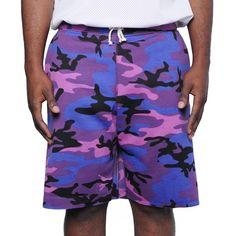 Purple Haze Camo short – F. Woolworth Co. Big Fashion, Fashion Wear, Runway Fashion, Camo Shorts, Fleece Shorts, Short Outfits, Stylish Outfits, Purple Camo, Summer Pool Party