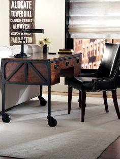 Industrial Empire Desk. HomeDecorators.com