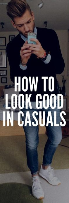 HOW TO LOOK SHARP in CASUAL #mensfashion #fashion #style #fallfashion #streetstyle