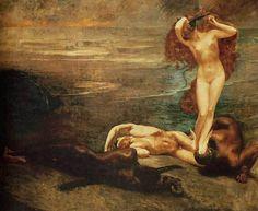 Giulio Aristide Sartorio (Italian, 1860-1932) - Gorgon and Heroes, 1897 Galerie Nationale d'art moderne et contemporain, Rome