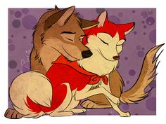 Balto and Jenna by Skip on Animation Source