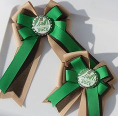 Girl Scout Hair Bow Girl Scouts Brownies Hair Bow by bowsforme, $6.50