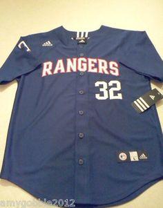 Texas Rangers Buttondown Adidas Jersey $19.55 Free Shipping.