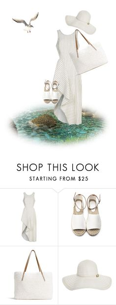 """""""At the beach, in the rock pools."""" by cardigurl ❤ liked on Polyvore featuring 3.1 Phillip Lim, G.H. Bass & Co., Melissa Odabash and Judith Leiber"""