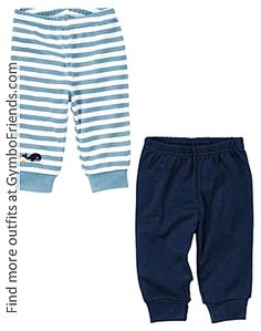 Gymboree Brand New Baby Boy 2012 - Whale Legging Two-Pack