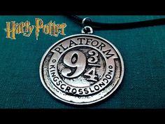 Harry Potter 9 3/4 Platform Coin Necklace https://www.youtube.com/watch?v=-YJpv_D99Zs #harrypotter