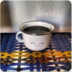 Taza carita...  Coffe Vintage Mug Taza de Peltre con Diseño. Petritas Smile